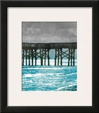 Teal Dock II Prints by Jairo Rodriguez