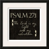 Psalm 27-1 Poster by Taylor Greene
