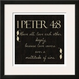 1 Peter 4-8 Prints by Taylor Greene