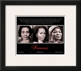 Dreamer (Trio): Peace, Power, Respect Prints
