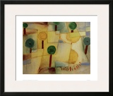 Where To Framed Giclee Print by Paul Klee
