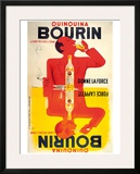 Quinquina Bourin Framed Giclee Print by Jacques Bellenger