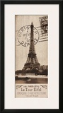 La Tour Eiffel Print by Kelly Donovan