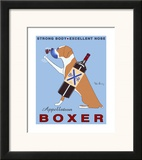 Appellation Boxer Poster by Ken Bailey