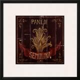 Semolina Prints by Susan Clickner