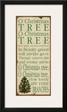 O Christmas Tree Art Print by Stephanie Marrott
