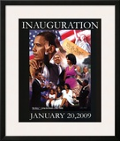 President Barack Obama Inauguration Gregory Prints