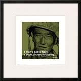 John Wayne: Creed Art
