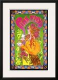 Pink Floyd in Concert, London, 1966 Print by Bob Masse