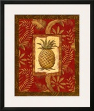 Exotica Pineapple Posters by Charlene Audrey