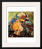 Baby Framed Giclee Print by Gustav Klimt