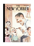 The New Yorker Cover - April 14, 2014 Regular Giclee Print by Barry Blitt
