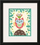 Folksy Friends I Prints by Clara Wells