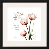 Swaying Tulips Pink, Hope Prints by Albert Koetsier