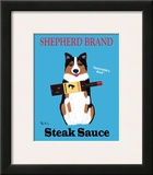 Shepherd Brand Steak Sauce Posters by Ken Bailey