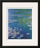 Waterlilies at Giverny Prints by Claude Monet