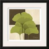 Ginkgo Green Quad Print by Albert Koetsier