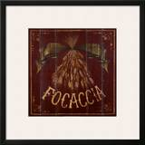 Focaccia Poster by Susan Clickner