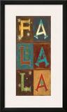 Falala! Posters by Jo Moulton