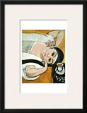 Laurette's Head Framed Giclee Print by Henri Matisse