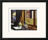 Chop Suey, 1929 Prints by Edward Hopper