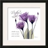 Mothers, Purple Tulips Art by Albert Koetsier