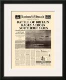 Battle of Britain Rages Posters