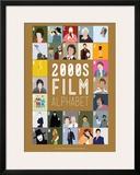 Alfabeto do Cinema de A a Z, anos 2000 Impressão giclée emoldurada por Stephen Wildish