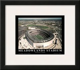 New York Giants New York Jets New Meadowlands Stadium Inaugural Season Print by Mike Smith