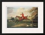 Fox Hunting Scene Posters by J.N. Sartorius