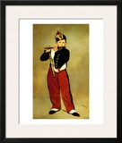 The Fifer Framed Giclee Print by Édouard Manet