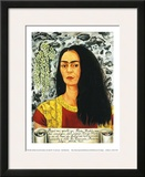 Self-Portait with Loose Hair - 1947 Posters by Frida Kahlo