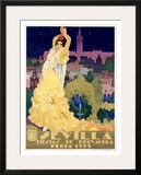 Sevilla Framed Giclee Print by  Estela