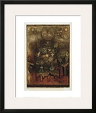 Magic Theatre Framed Giclee Print by Paul Klee