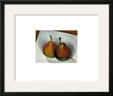 Two Pears, 1921 Posters by Georgia O'Keeffe