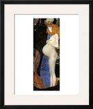 Hope I Framed Giclee Print by Gustav Klimt