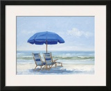 Beach Chairs 1 Prints by Jill Schultz McGannon
