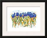 Field of Tulips Print by Alfred Gockel