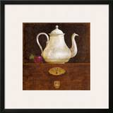 Coffee Pot Print by Eric Barjot