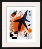 L'Etoile Bleu Print by Joan Miró