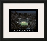 Colorado Rockies Coors Field First Opening Day April 26, c.1995 Sports Prints by Mike Smith