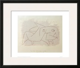 Animal Soon to be Merry Again Framed Giclee Print by Paul Klee