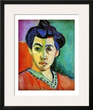 Madame Matisse Framed Giclee Print by Henri Matisse
