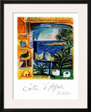 Cote d'Azur Framed Giclee Print by Pablo Picasso