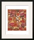 Rose Garden Framed Giclee Print by Paul Klee