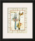 Rose Garden Utensils I Prints by Lisa Audit