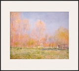 Spring in Giverny, 1890 Posters by Claude Monet
