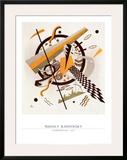 Komposition mit Schachbrettstreifen, 1922 Poster by Wassily Kandinsky
