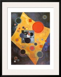 Akzent in Rosa Art by Wassily Kandinsky