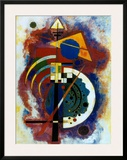 Hommage a Grohmann Prints by Wassily Kandinsky